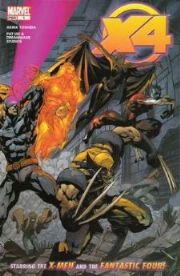 X4: X-Men Fantastic Four Comics
